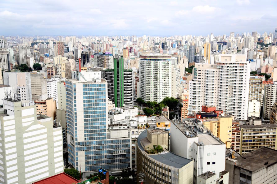 Sao Paulo in Brazil is the largest city in the southern hemisphere and is classed is a megacity.