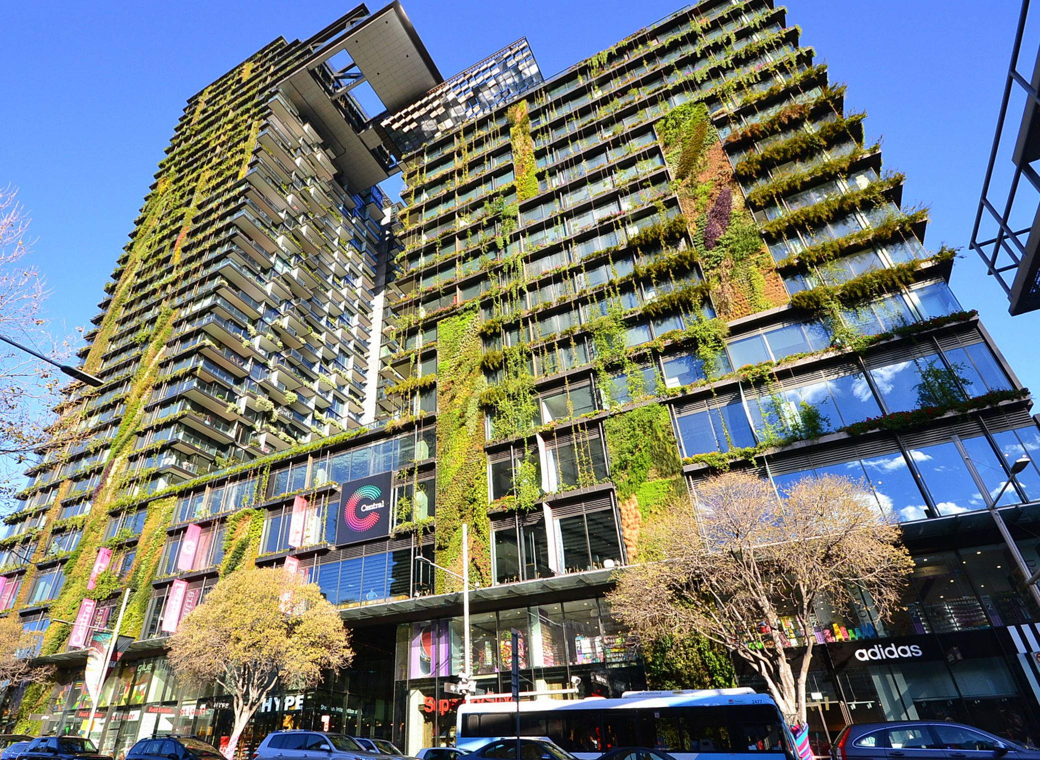 One Central Park Sydney by Jean Nouvel